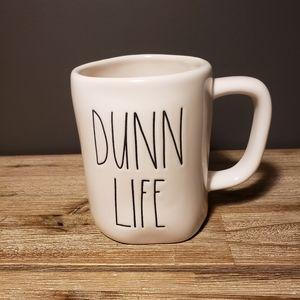 Rae Dunn DUNN LIFE Mug NEW